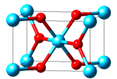 Structure and Bond Lengths in Titanium Dioxide (TiO₂)