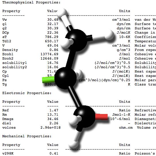 P3C: Polymer Property Prediction using Correlations